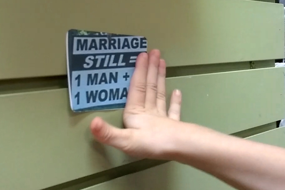 Marriage still one man one woman