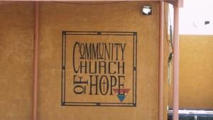 Queer church entrance