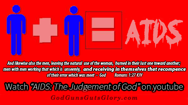 Man and man equals AIDS judgment of God 4G