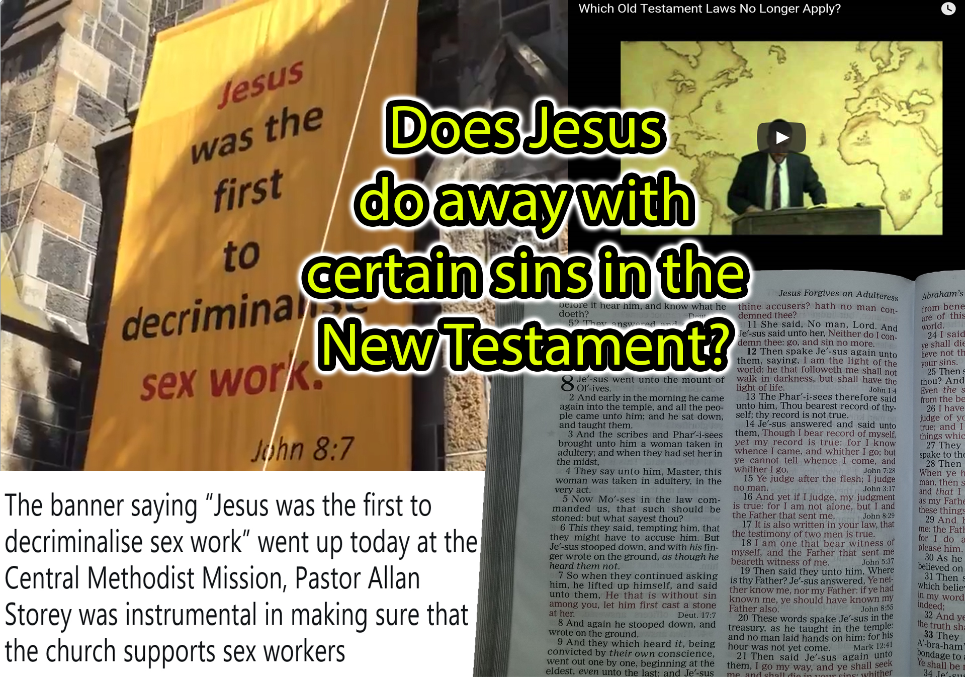 Does Jesus Do Away With Law Against Certain Sins In The NT